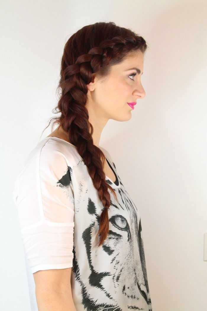 7 Unique Braided Hairstyles For Girls Simple Side Braid Health