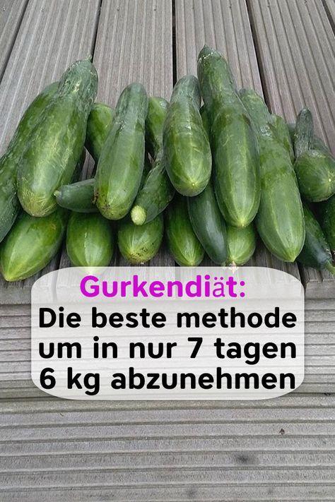 Photo of Gurkendiät: Die beste methode um in nur 7 tagen 6 kg abzunehmen #Gurkendiät #G…