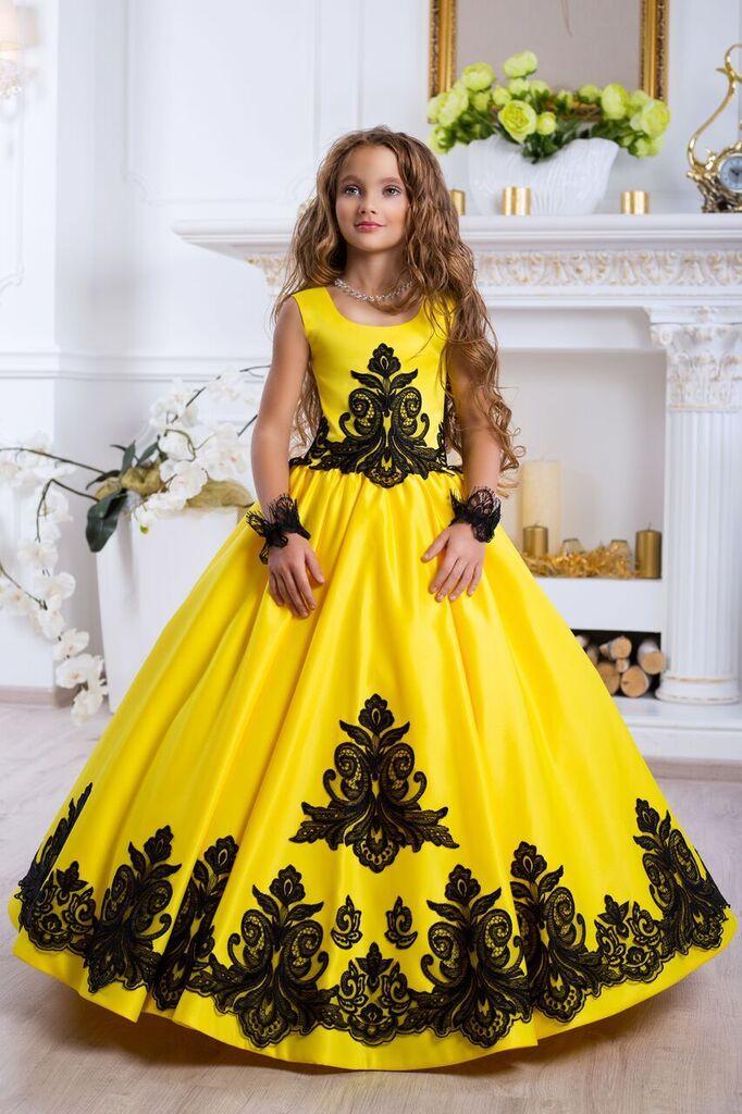 Нарядные платья для девочек  - бальные - праздничные - вечерние - пышные -  свадебные - детские платья на праздник в интернет магазине Дресс-Делю…    nia ... c3e78d99705