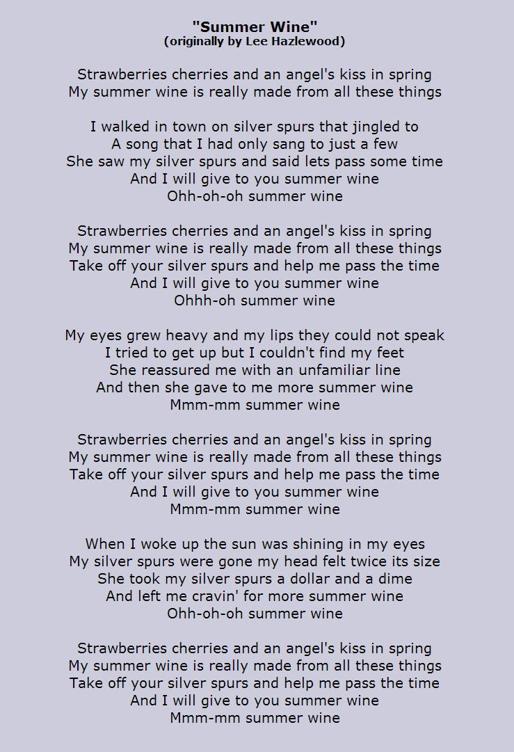Strawberries cherries and an angels kiss in spring my summer wine strawberries cherries and an angels kiss in spring my summer wine is really made from all hexwebz Images
