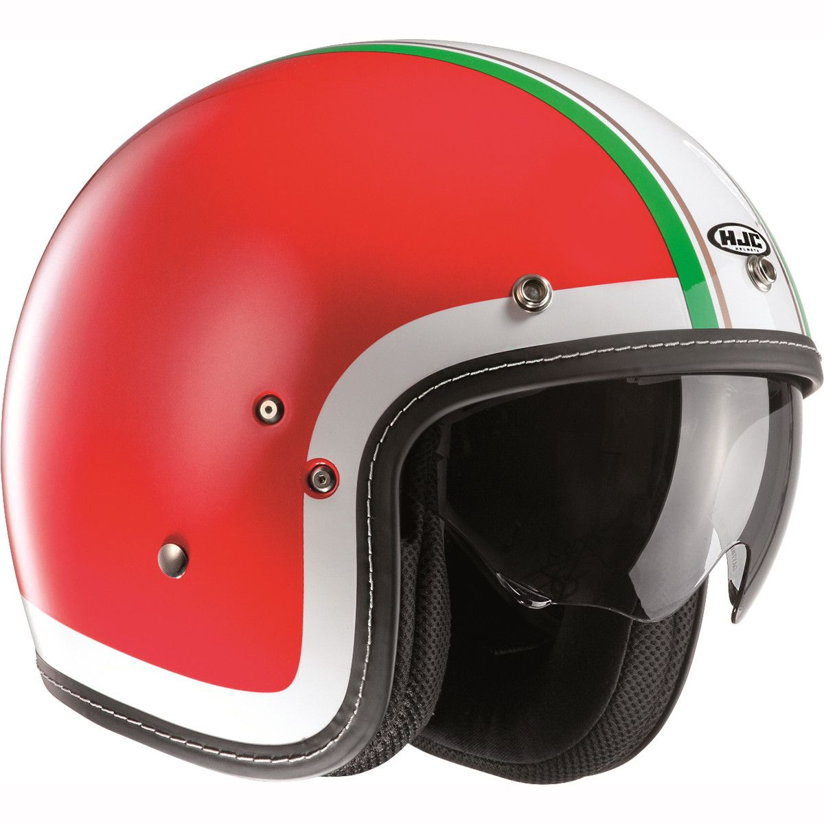*SHIPS SAME DAY* Bell Custom 500 Open Face Motorcycle Helmet Solid, Carbon, 74