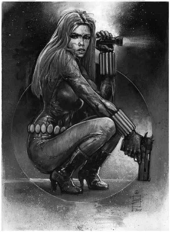 Black Widow Art | Comic Art:Black Widow