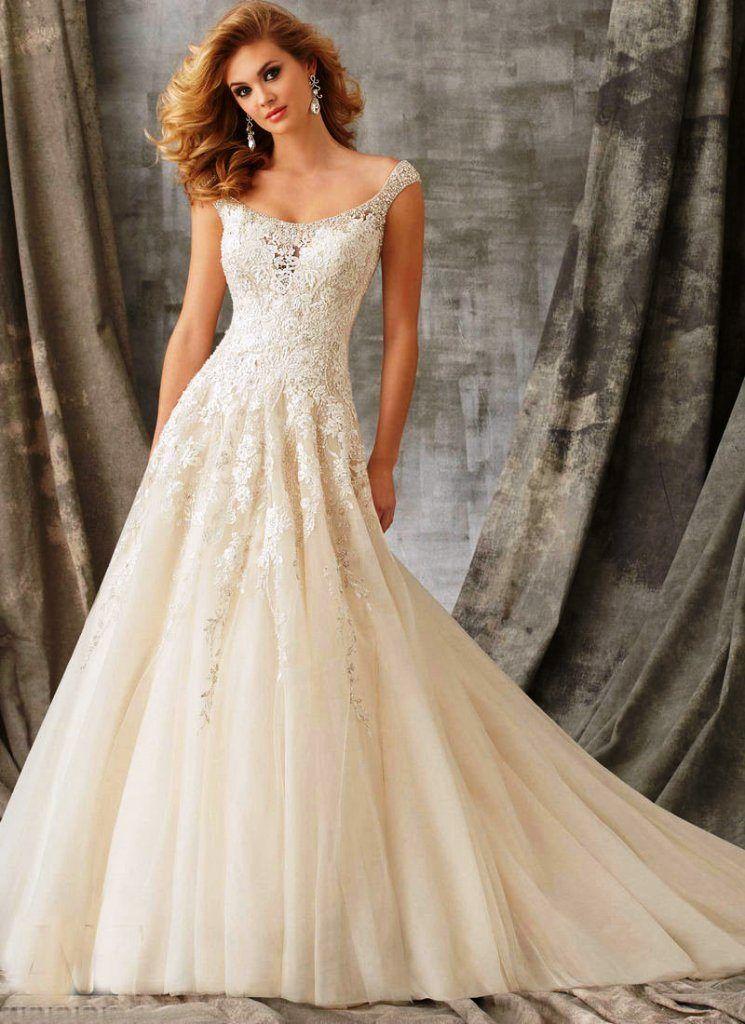 Moderne Weinlese-Hochzeits-Kleid | kleid | Pinterest | Vintage ...