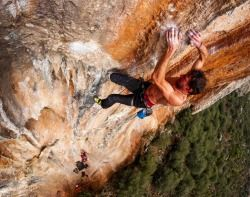 "tiletozo: ""  A rainy day at Geyik is just the right time to try the many overhanging routes. """