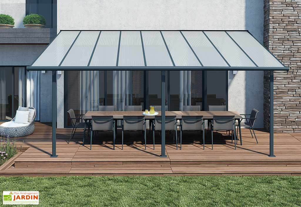 pergola elite en aluminium et polycarbonate 555x295x260cm pergolas et tonnelles pinterest. Black Bedroom Furniture Sets. Home Design Ideas