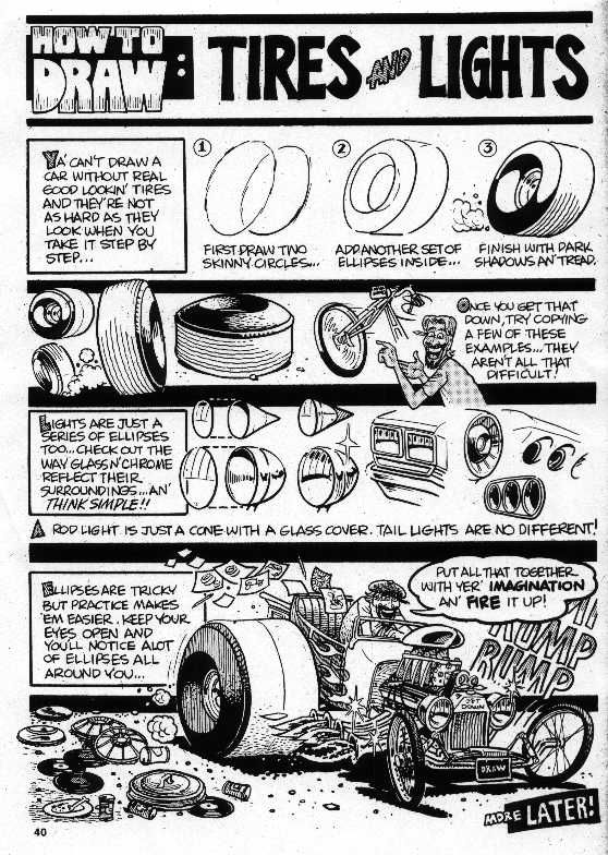 Trosley How To Draw Tires And Lights