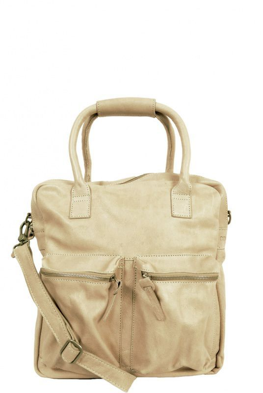3b60394b6a1 Cowboysbag The Shopper Bag Leren Tas Beige online kopen | Dames ...
