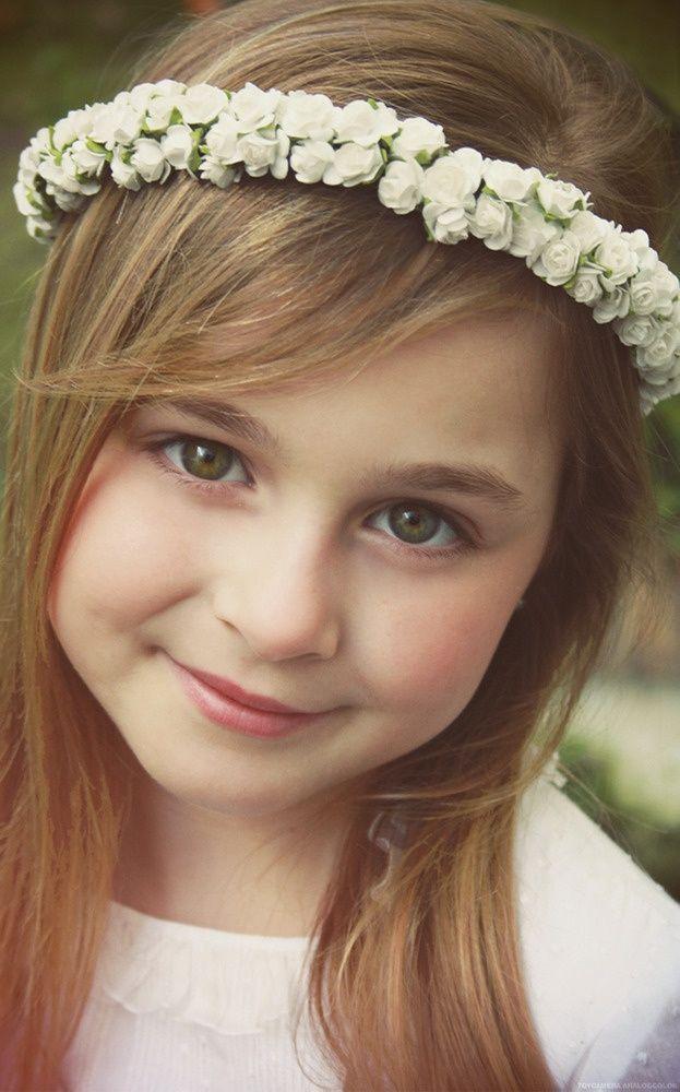 Un look impactante con peinados niño comunion Imagen de estilo de color de pelo - 110 Peinados para comunión de niñas - De Peinados ...