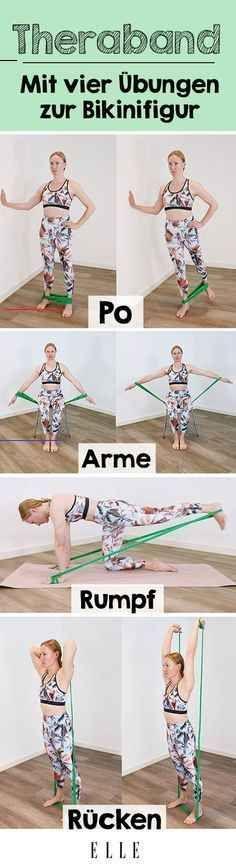 Diese Theraband-Übungen werden deinen Körper komplett verändern Wer auf Krafttraining setzt, um fit...