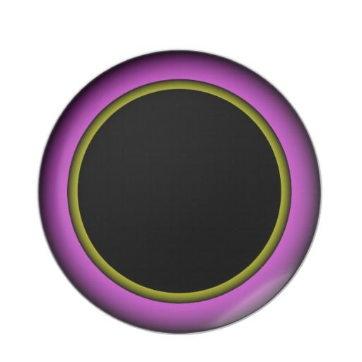 Purple  Gold Plate