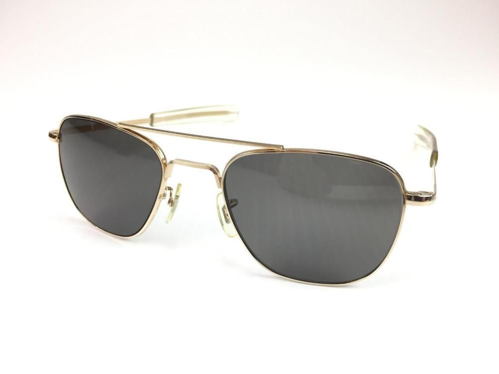 053fc73752f American Optical vintage 12k gold filled Aviator sunglasses size 5 1 2  Excellent