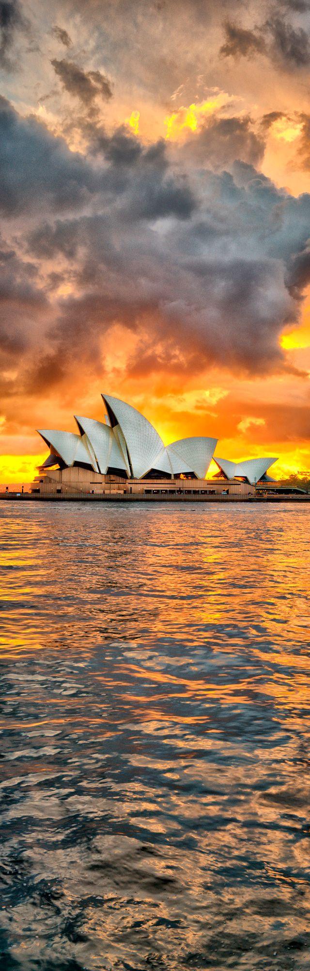Sydney Opera House sunrise - ep <3