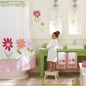 Beau Little Girl Bathroom Decorating Ideas