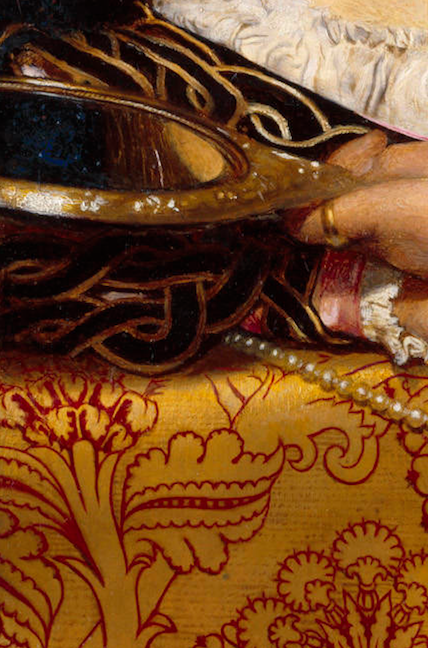 Frank Cadogan Cowper, Vanity (detail), 1907.
