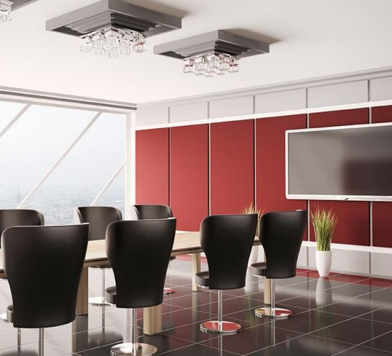 AbsorbaWall Acoustic Wall Panels To Reduce Noise And Echo In Office  Environment