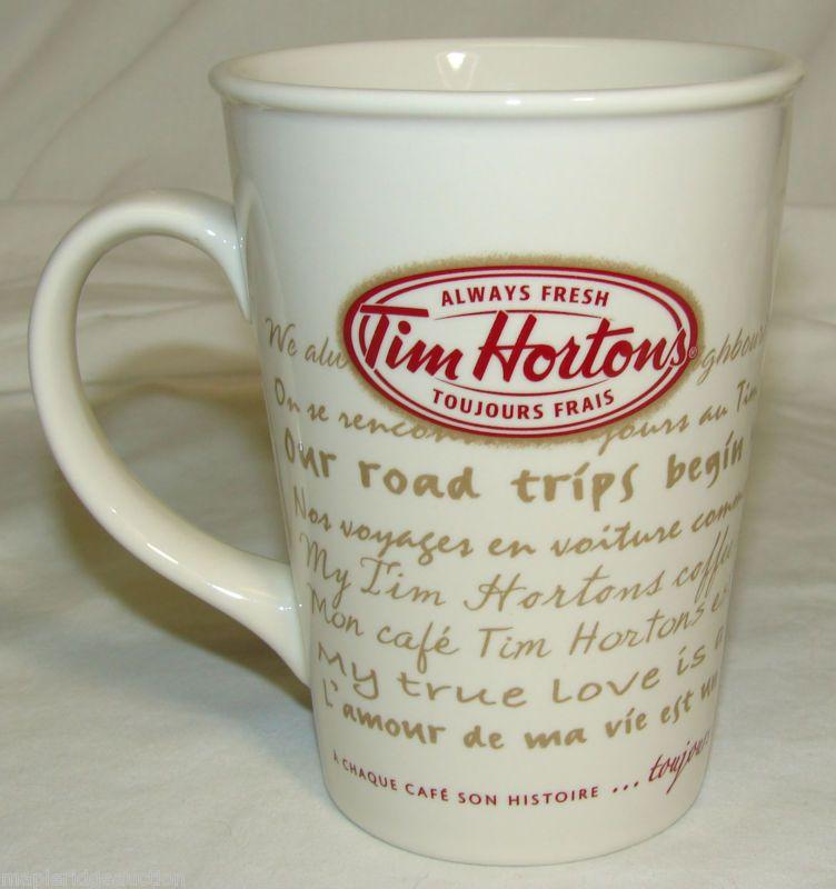 Tim hortons limited edition mug 50th anniversary coffee mug cup.