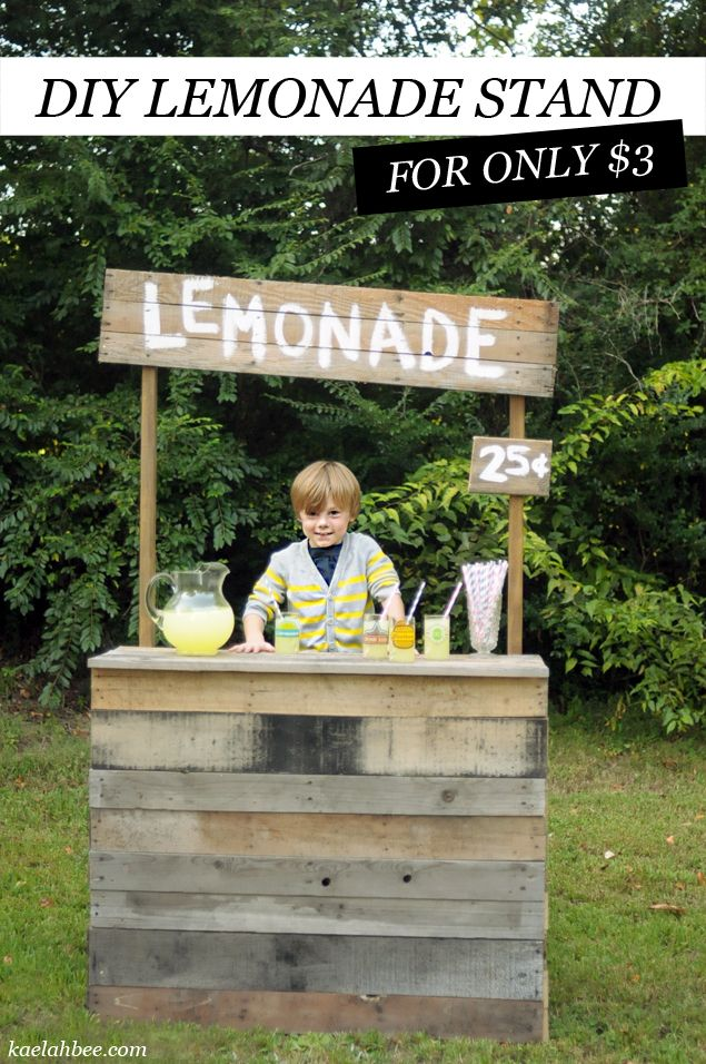 thinking of a lemonade stand birthday party theme for