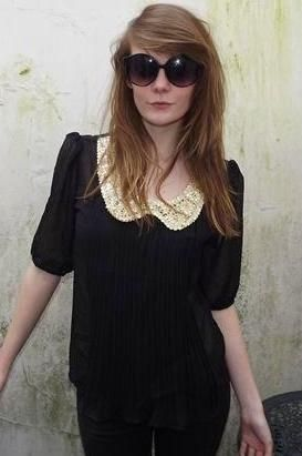 Sequin Collar Blouse www.olliemay.com Ollie May Boutique