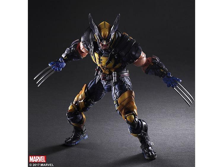 Square Enix Play Arts Kai Wolverine MARVEL UNIVERSE VARIANT Action Figure Logan