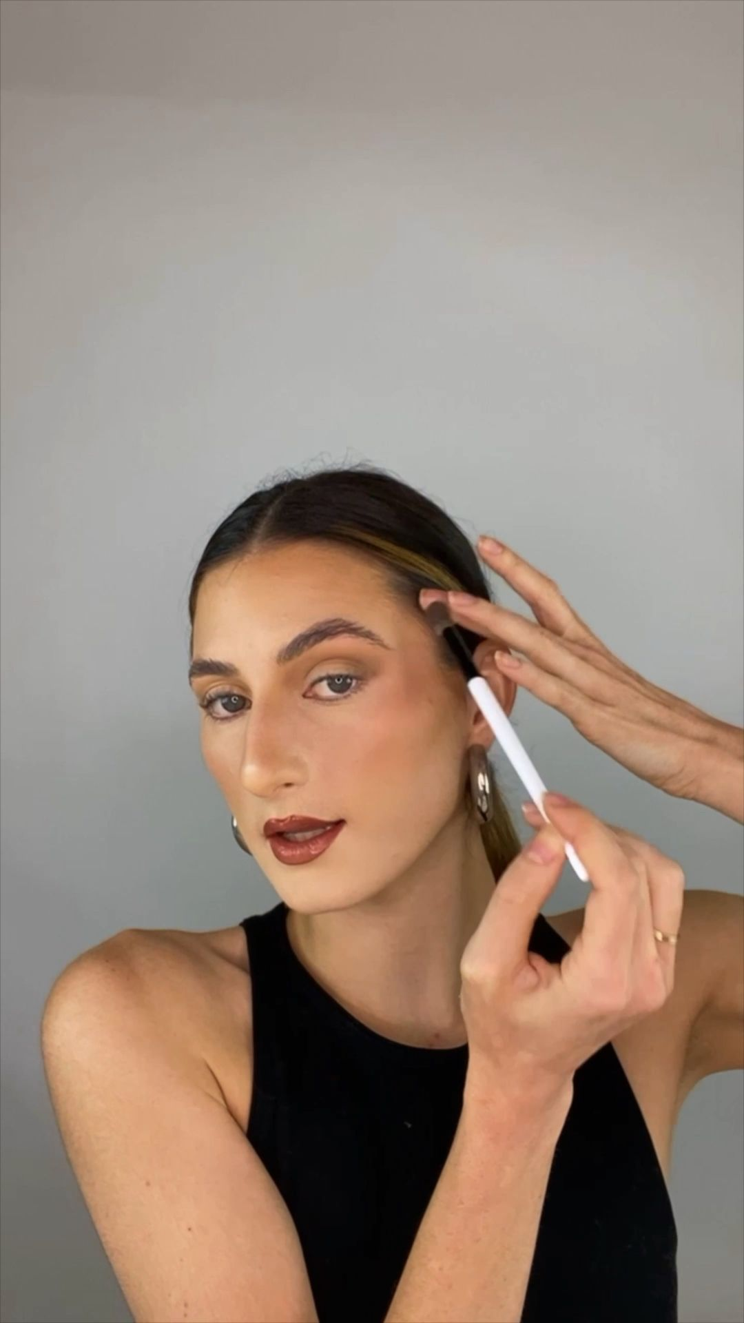Bella Hadid Inspired Soft Glam Makeup