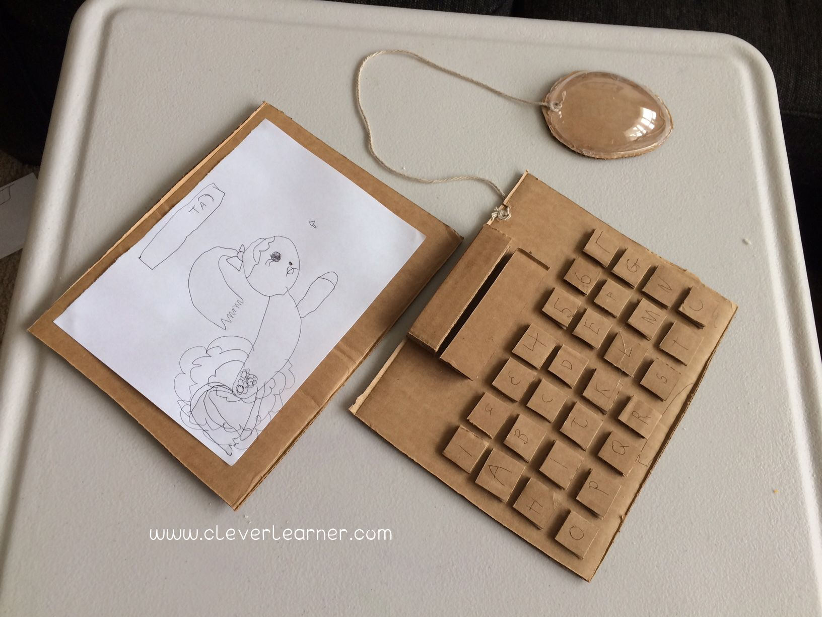 Laptop In Cardboard Technology At Its Best Classic
