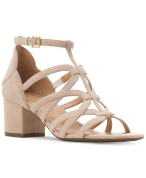 6f99f1ea492 Michael Michael Kors Sandra Flex Caged Dress Sandals - Tan Beige 8.5 ...