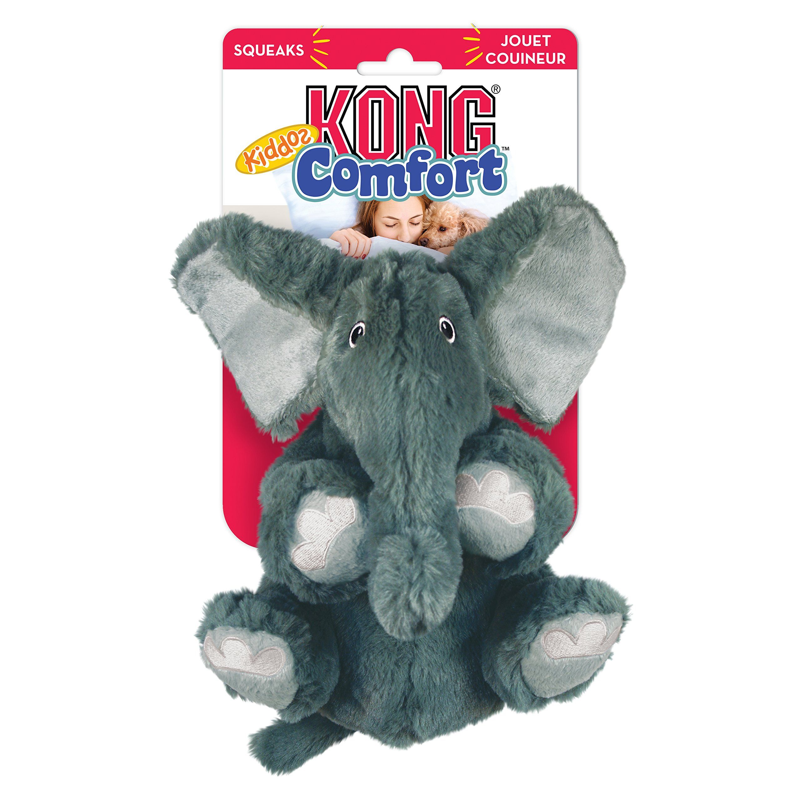 Kong Comfort Kiddos Elephant Dog Toy Large See This Great