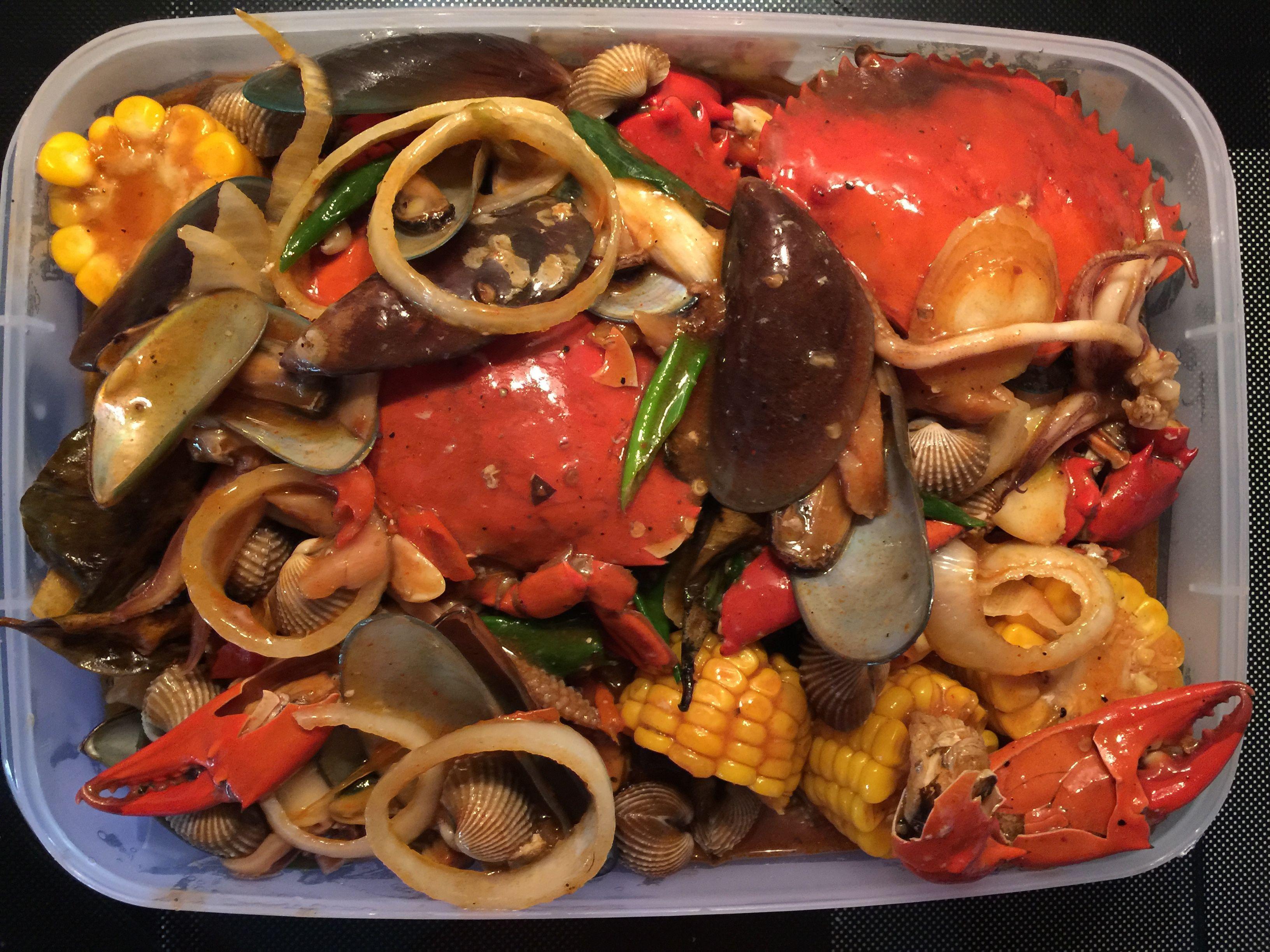Resep Masak Kepiting Saus Padang Asam Manis Saus Tiram Pedas Dan Lada Hitam Sederhana Makanan Pedas Makanan Dan Minuman Resep Udang