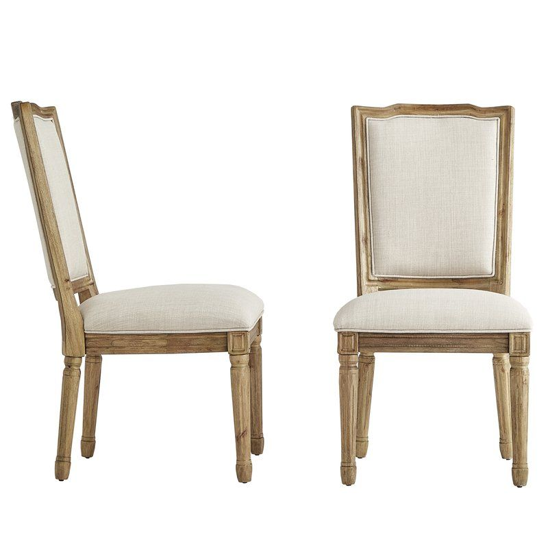 Lachance Ornate Upholstered Dining Chair Upholstered Dining