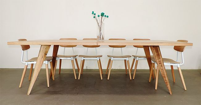 Concepts Furnland Scandi Dining Table Timber Online