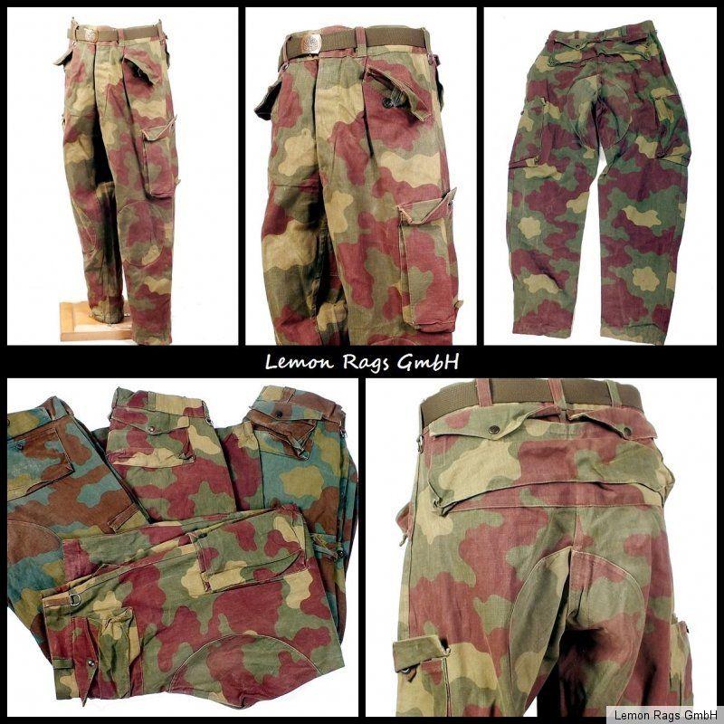 Pantalon armée Italienne - Pants San Marco Marines - Special Forces ...