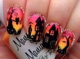Risultati immagini per nail art halloween