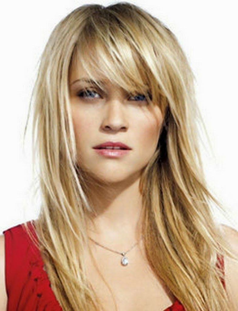 Long Straight Choppy Layered Hairst trend hairstyle now