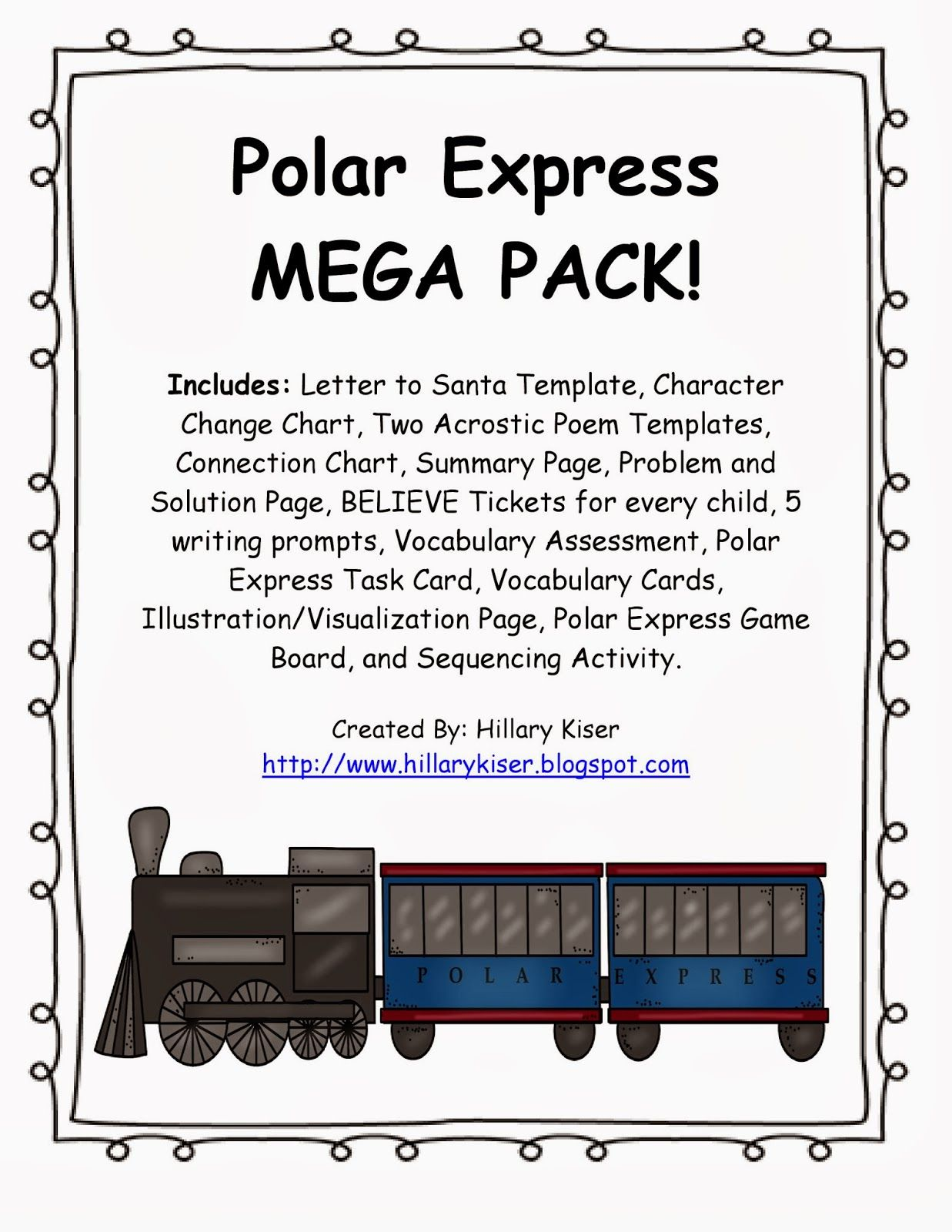 Adventures Of Teaching Polar Express Mega Pack