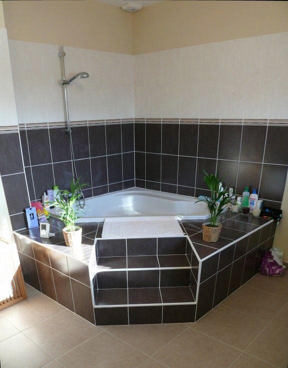 salle de bain baignoire angle