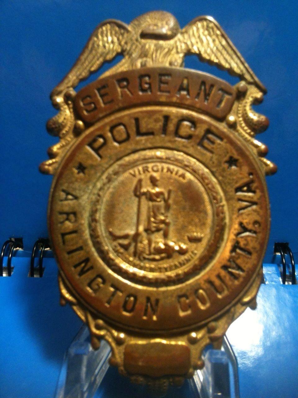 Arlington Sergeant Badge
