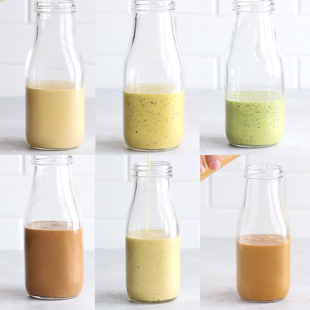 Photo of 6 Healthy Homemade Salad Dressings