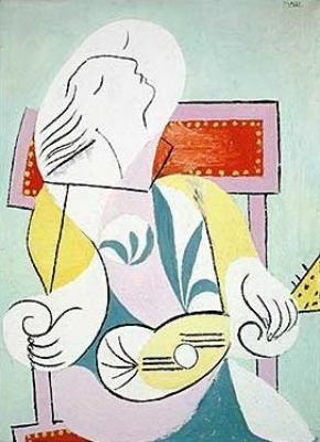 Woman with Mandolin