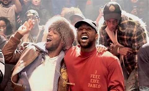 Kid Cudi X Kanye West X Travi Scott Yzy Szn 3 Madison Square Garden Kid Cudi Kanye West Kanye West Kids Kanye West