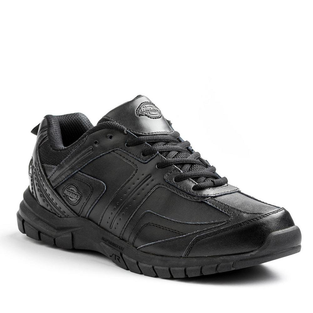 2b579a4909c0 Dickies Vanquish Men Size 9.5 Wide Black Slip Resistant Safety Work ...