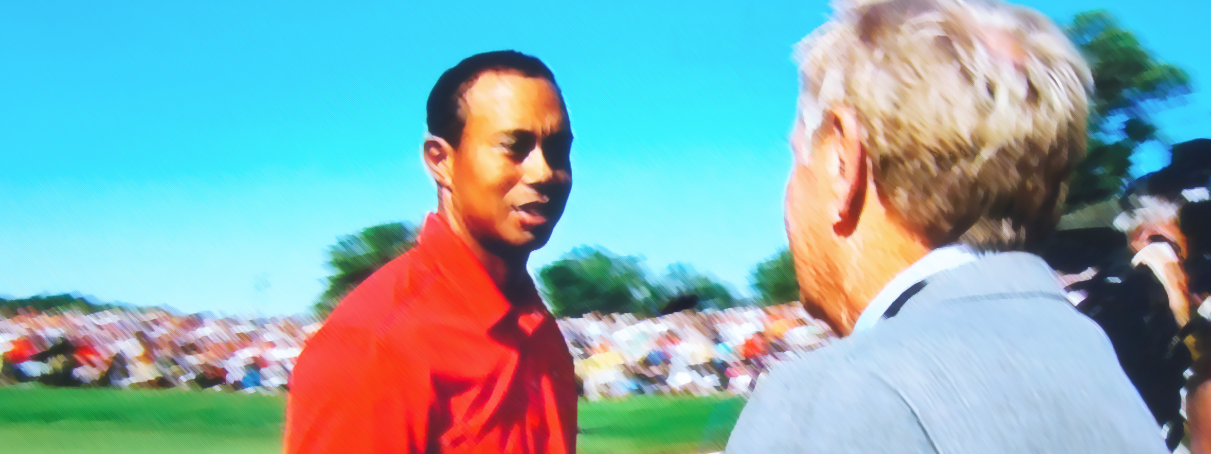 Great shot of Tiger's win at Jack's Tourney!
