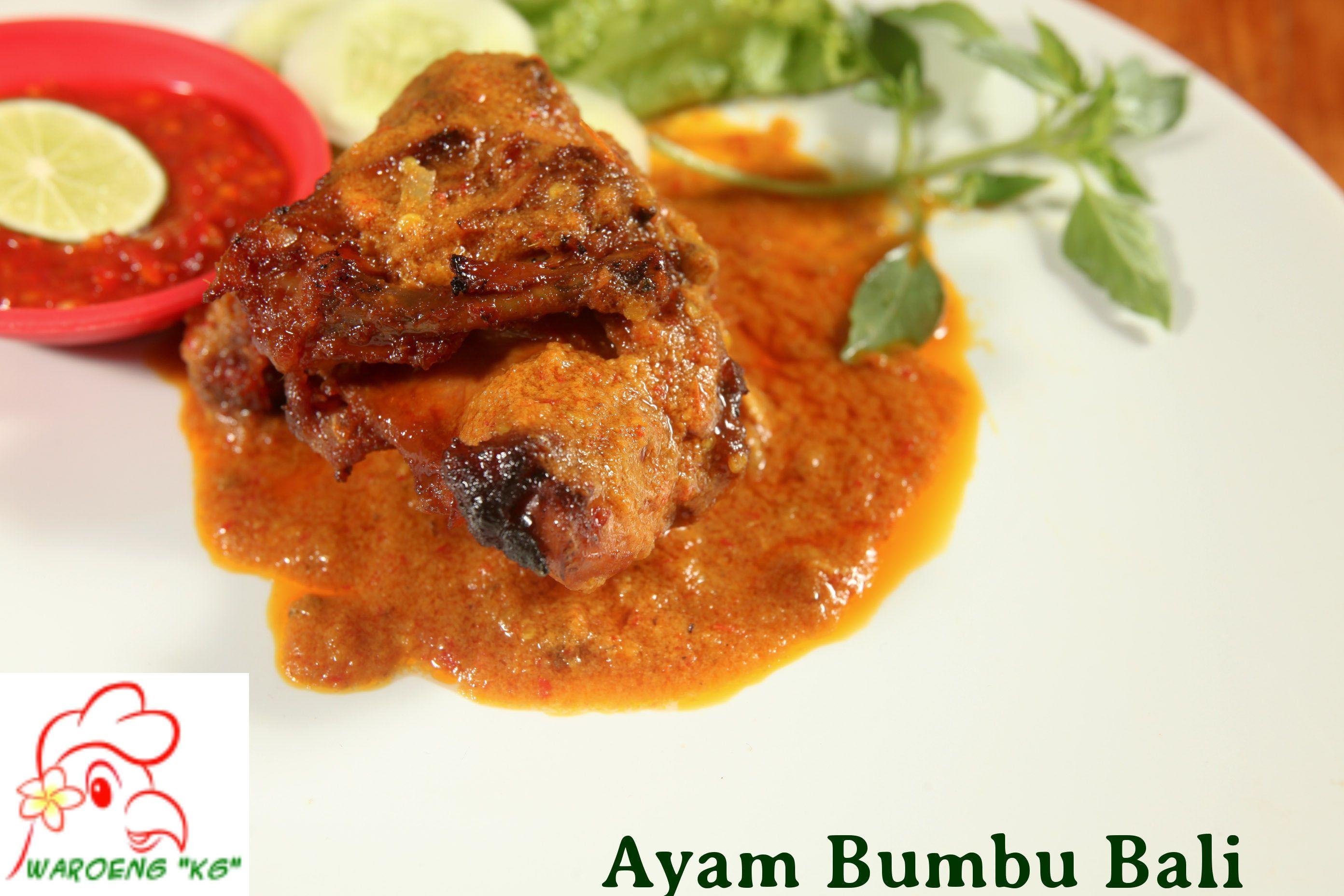 Menu Masakan Ayam Bumbu Bali Yuk Di Order Makan Ayam Bali Ga Usah Pergi Jauh Ke Bali Di Waroeng Kg Menyediakan Menu Ayam Bali Masakan
