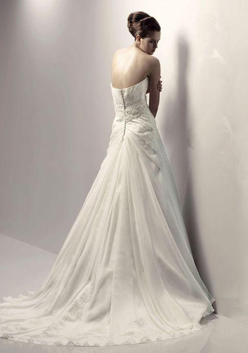 Wedding Dresses With Detatchable Trains Elegant Organza Detachable Train Quick Details
