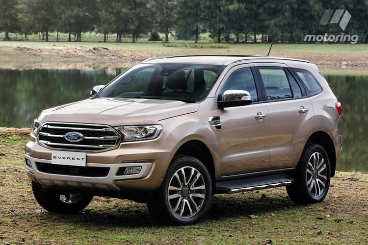 Higher Prices For 2019 Ford Everest With Images 2019 Ford