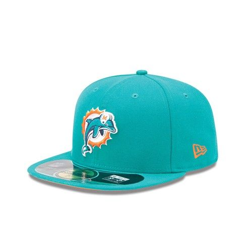 7f65c2abf78 Miami  Dolphins 2012 New Era® 59FIFTY® Sideline Hat. Click to order! -   34.99