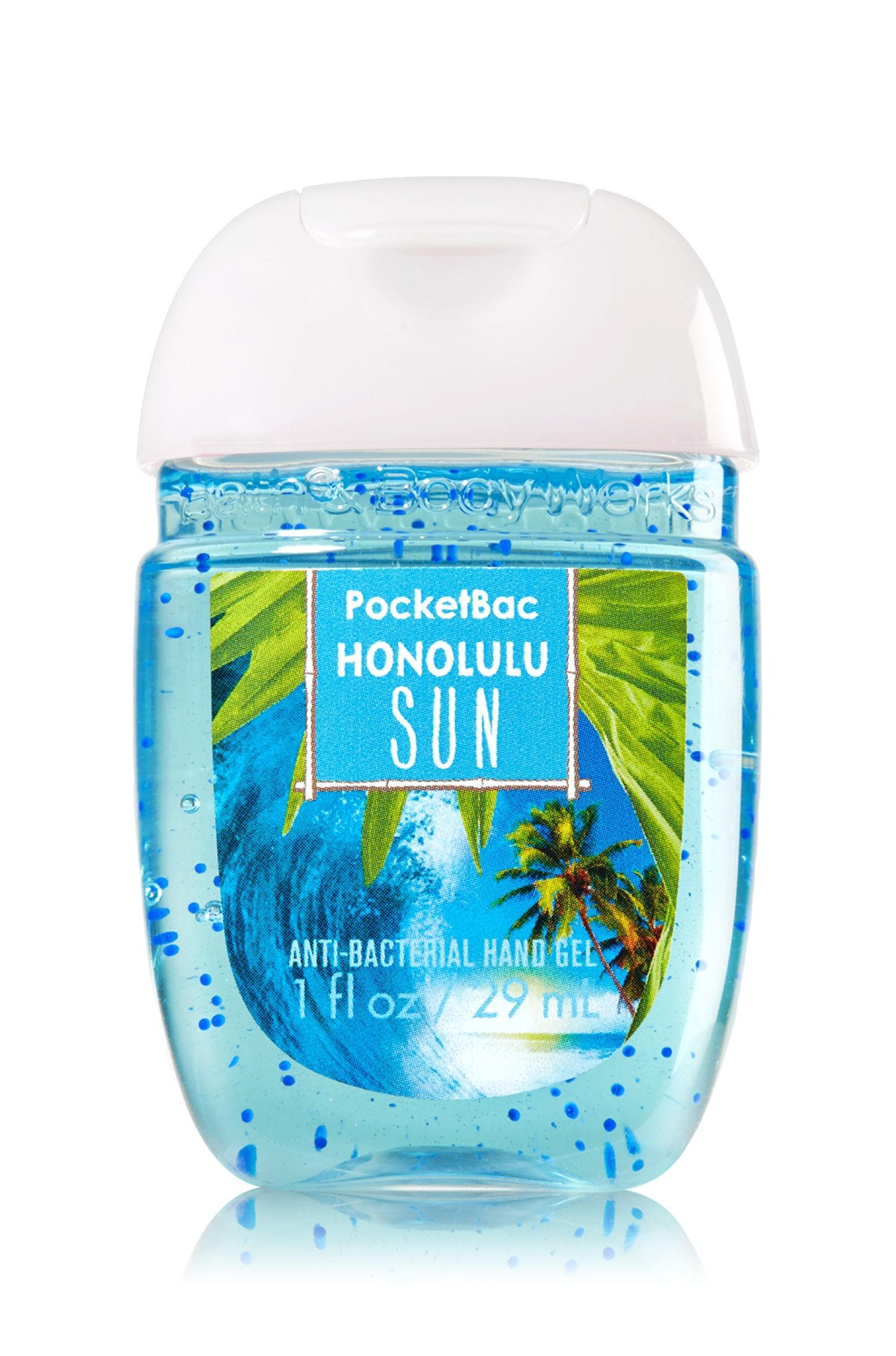Honolulu Sun Pocketbac Sanitizing Hand Gel Soap Sanitizer Bath