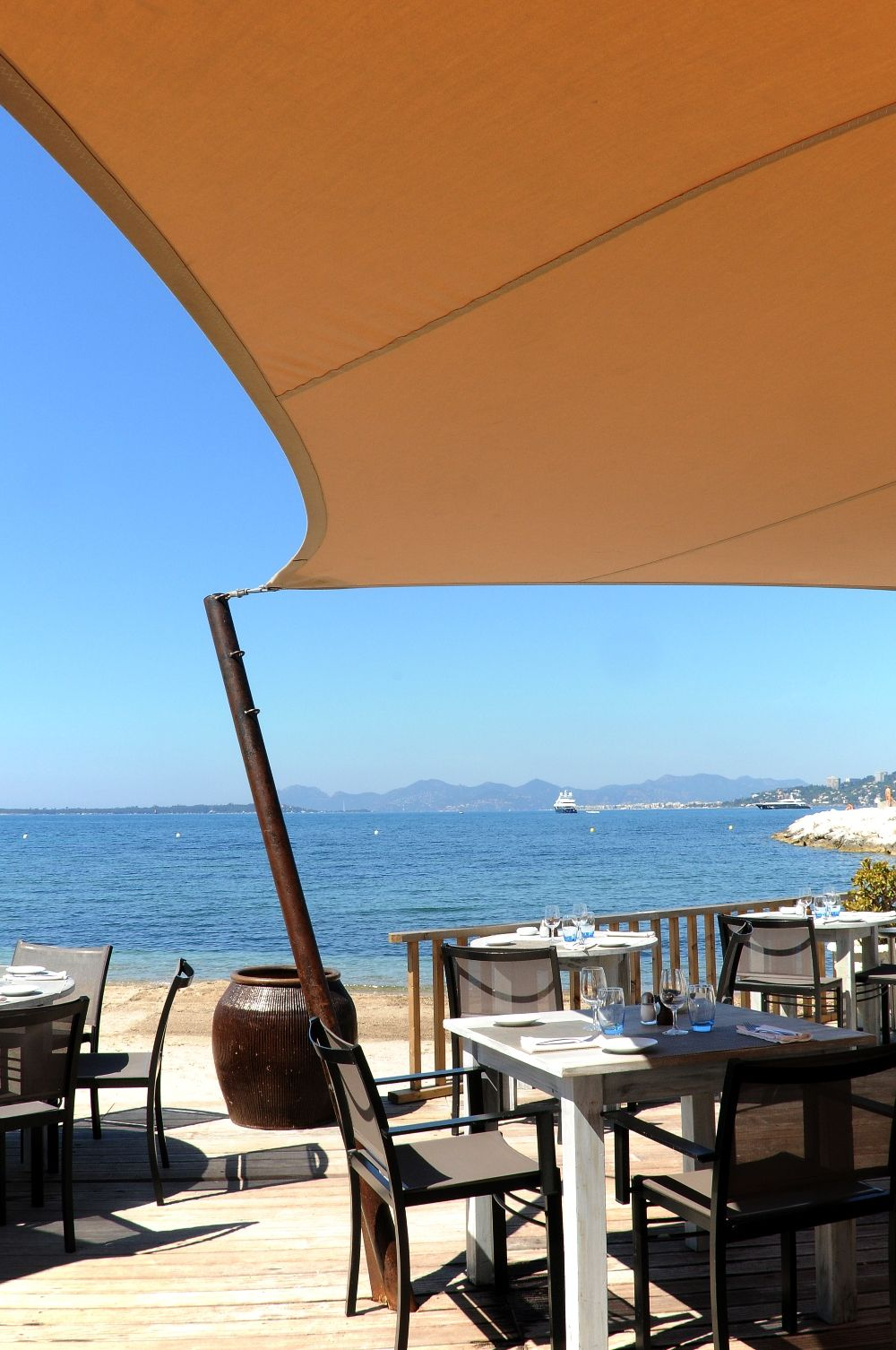 Beach Restaurant Le Cap Cap D Antibes Beach Hotel Relais