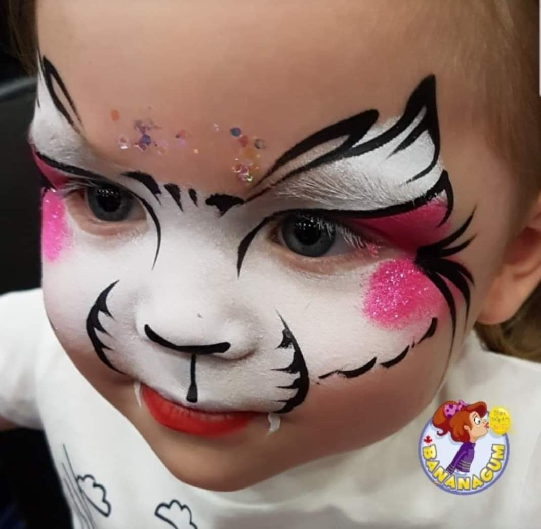 Kitten Face Painting Kids Face Paint Face