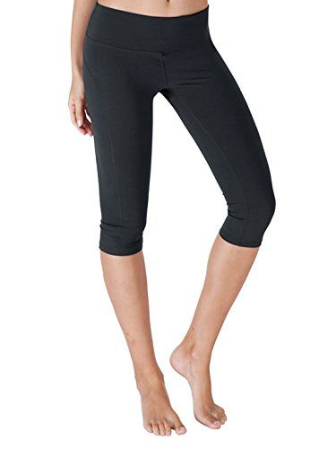 Yoga Reflex  Yoga Capris for Women  Running Capri Pants With Hidden Pocket XS2XL  Navy  Large -- More info could be found at the image url.Note:It is affiliate link to Amazon.