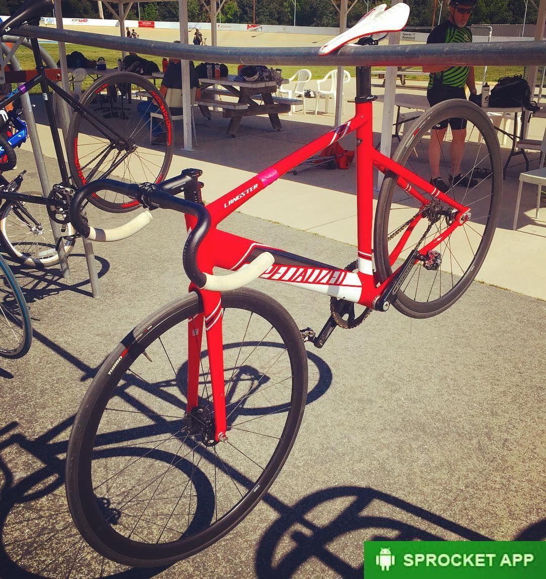 2016 Specialized Langster Pro Track Bike At Hellyervelodrome